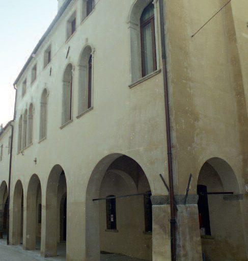 La facciata del Palazzo ai giorni nostri