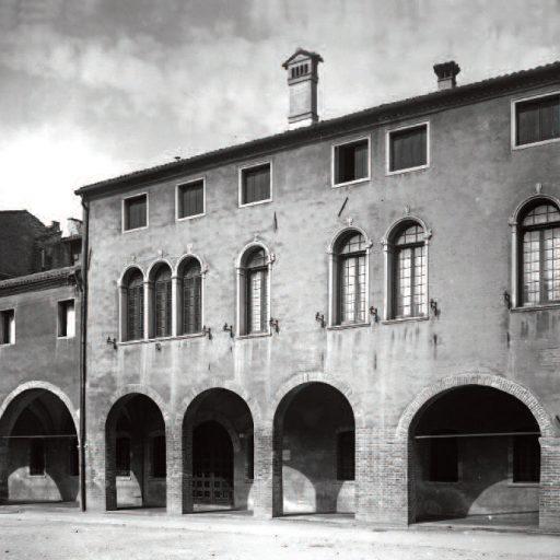 La facciata del Palazzo dopo il restauro