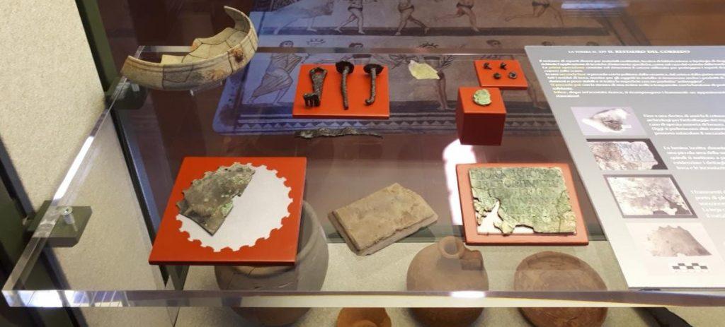 Il restauro della targa con iscrizione onoraria dalla tomba 339 della necropoli di Posmon – via Cima Mandria di Montebelluna (TV)