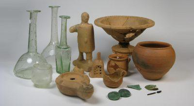 """""""Il bambino e il gladiatore"""": il restauro del corredo di una tomba infantile della necropoli meridionale dell'antica Patavium"""