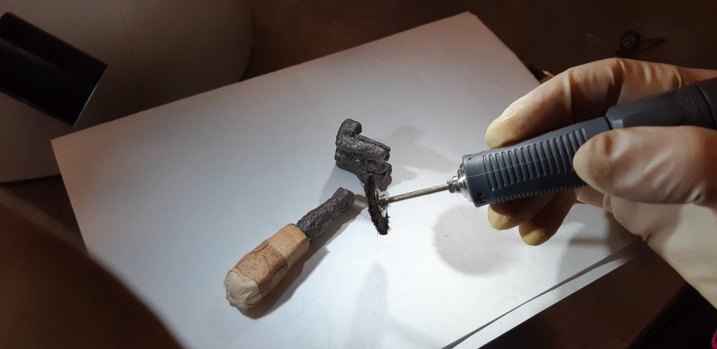 Il restauro di una chiave di epoca romana da Montebelluna (TV)