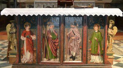 L'altare a battenti di Santa Maria a Pieve di Cadore (Belluno)