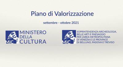 Al via il Piano di Valorizzazione dei luoghi della cultura 2021: aperture straordinarie, visite guidate e conferenze